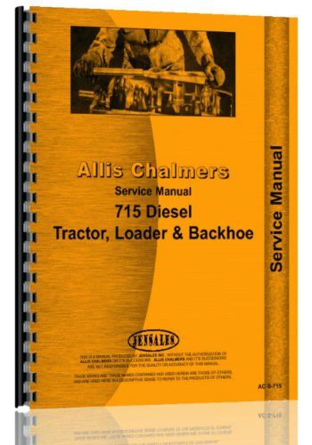 Allis Chalmers 715 Diesel Backhoe/Loader Service Manual