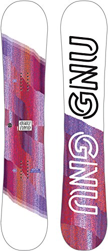 Gnu B-Nice Asym Snowboard Light Womens Sz ()