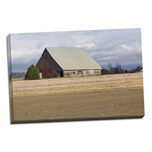 Red Door Barn, Fine Art Photograph By: Dana Styber; One 36x2