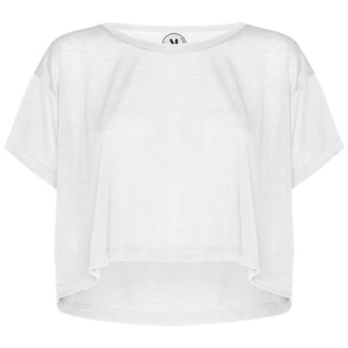 Camiseta de Mujer Cella, Blanco (S/M)