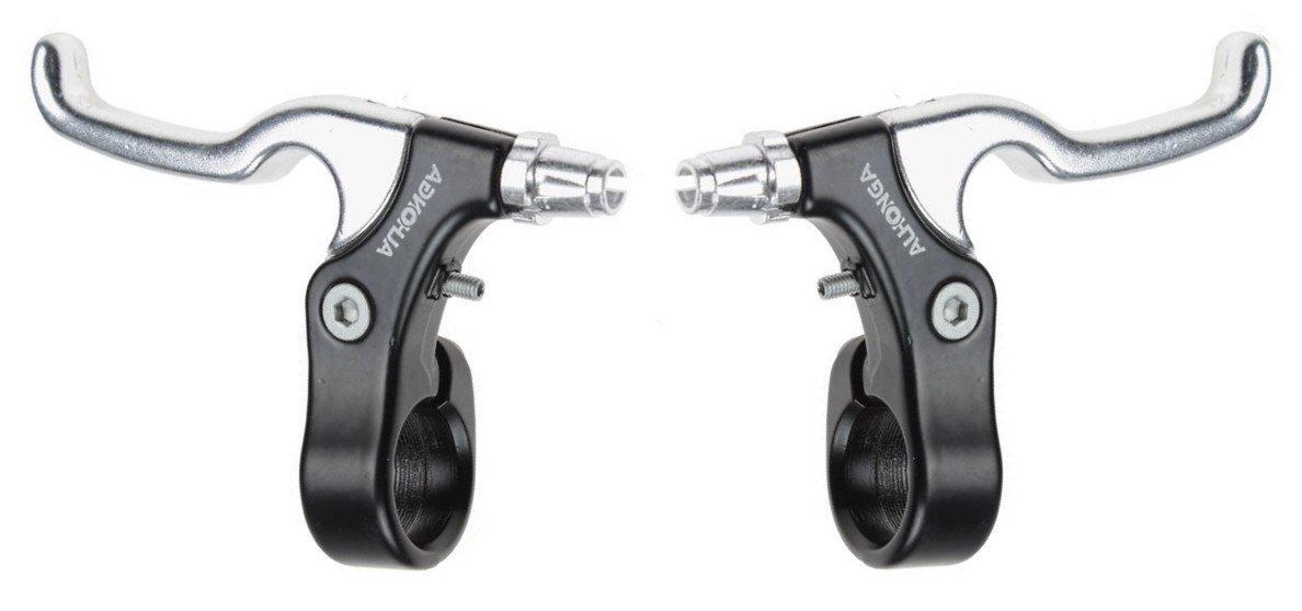 Fixed Gear Fixie Bike Bicycle Alhonga HJ-303AD Short Pull Brake Levers for BMX