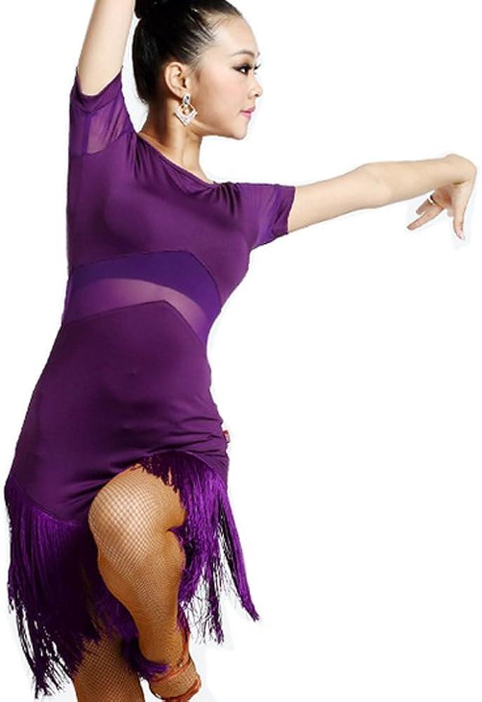 Motony Vestido de Baile Latino Baile Latino Faldas Faldas Ropa de ...