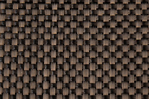 Carbon Fiber Fabric 3K 5.7oz. x 50 in Plain Weave - 10 yard roll
