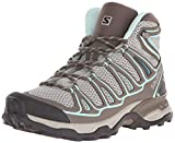 Salomon Women's X Ultra MID AERO W-W, Titanium/Swamp/Opaline Blue, 8.5 B US