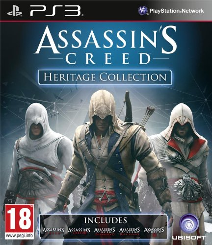 Amazon Com Assassins Creed Heritage Collection Ps3 Video Games