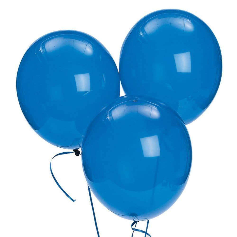 Fun Express 11  Latex Sapphire bluee Balloons (144 Piece)