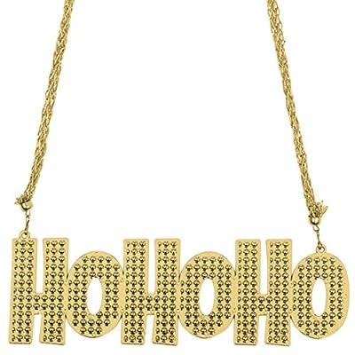 amscan Ho Ho Ho Bead Necklace | Christmas Accessory: Toys & Games
