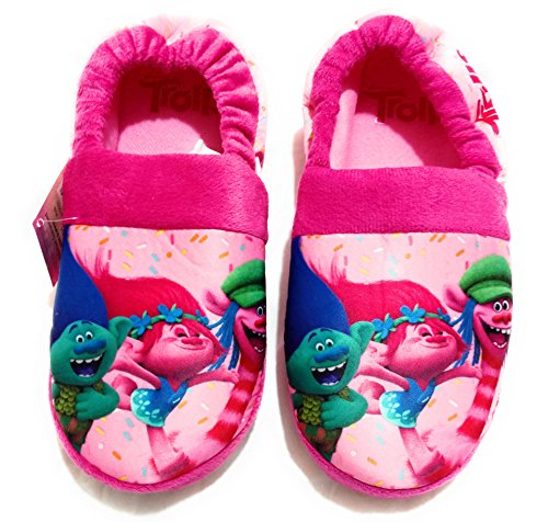 DreamWorks Trolls Poppy Girls Cute Pink Slippers (2/3)