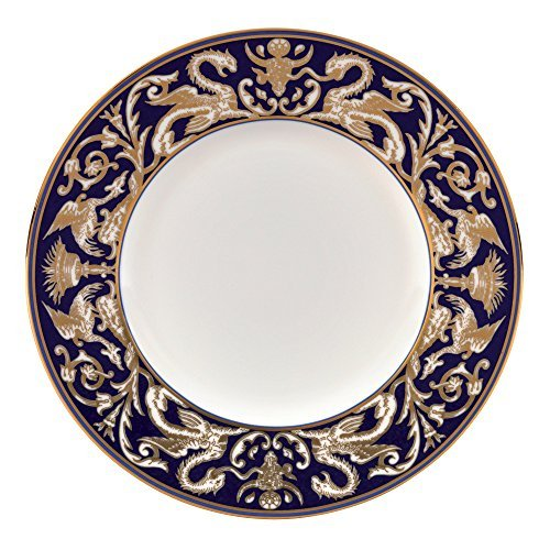 - Renaissance Gold Accent Salad Plate Scroll 9""