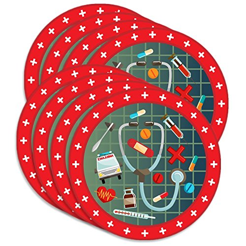 Medical- Doctor & Nurse Birthday Party Supplies Large 9