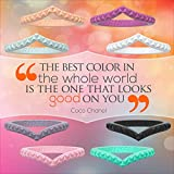 Rinfit Silicone Wedding Ring for Women Set of