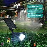 URPOWER Solar Lights 2-in-1 Solar Powered 4 LED