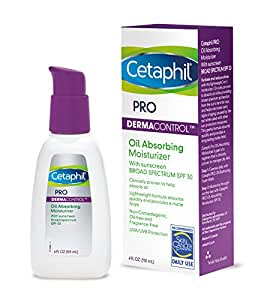 Cetaphil Dermacontrol Facial Moisturizer for Acne-Prone Skin with Suncreen SPF 30, 4 Fluid (Packaging May Vary) Ounce