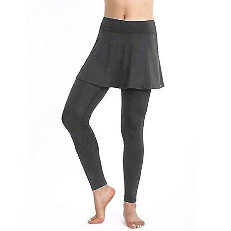 KAKAYO Falda De Cintura Alta Pantalones De Yoga Push Up Leggings ...