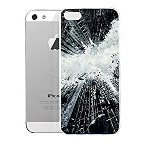 Light weight with strong PC plastic case for Iphone 5/5s Comics DC Comics Batman Batman Dark Knight Rises Movie Poster by ruishername