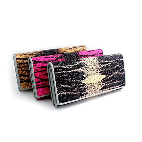 fonction Clutch Femmes Purse Purse Black Color Parti Multi Fermeture Clutch Boucle Lady Coffee nIf0f86OW