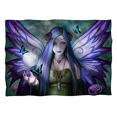 Trevco Anne Stokes Mystic Aura Fairy of Pillow Caseness Pillow Case by Trevco