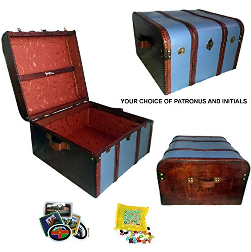 Harry Potter Book Trunk ~ Hogwarts trunk ravenclaw blue ehouseholds