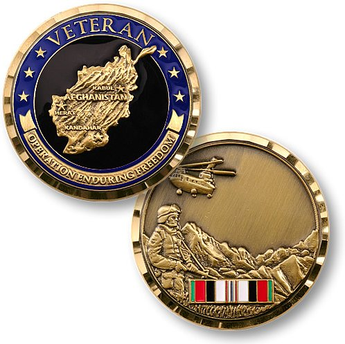 MotorDog69 Indian Gas Cap Coin Mount Set with Operation Enduring Freedom for Chieftain Dark Chief Vintage Chief Classic