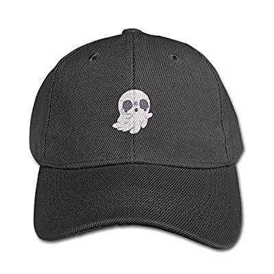LBLOGITECH Pink Ghost Youth Hat Classic Kids Cotton Peaked Baseball Cap