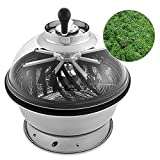 Happybuy 19 Inch Bowl Trimmer Leaf Bowl Trimmer Hydroponic Pro Bowl Trimmer Electric Leaf Bud Trim Reaper Cutter Twisted Spin Cut for Plant Bud and Flower