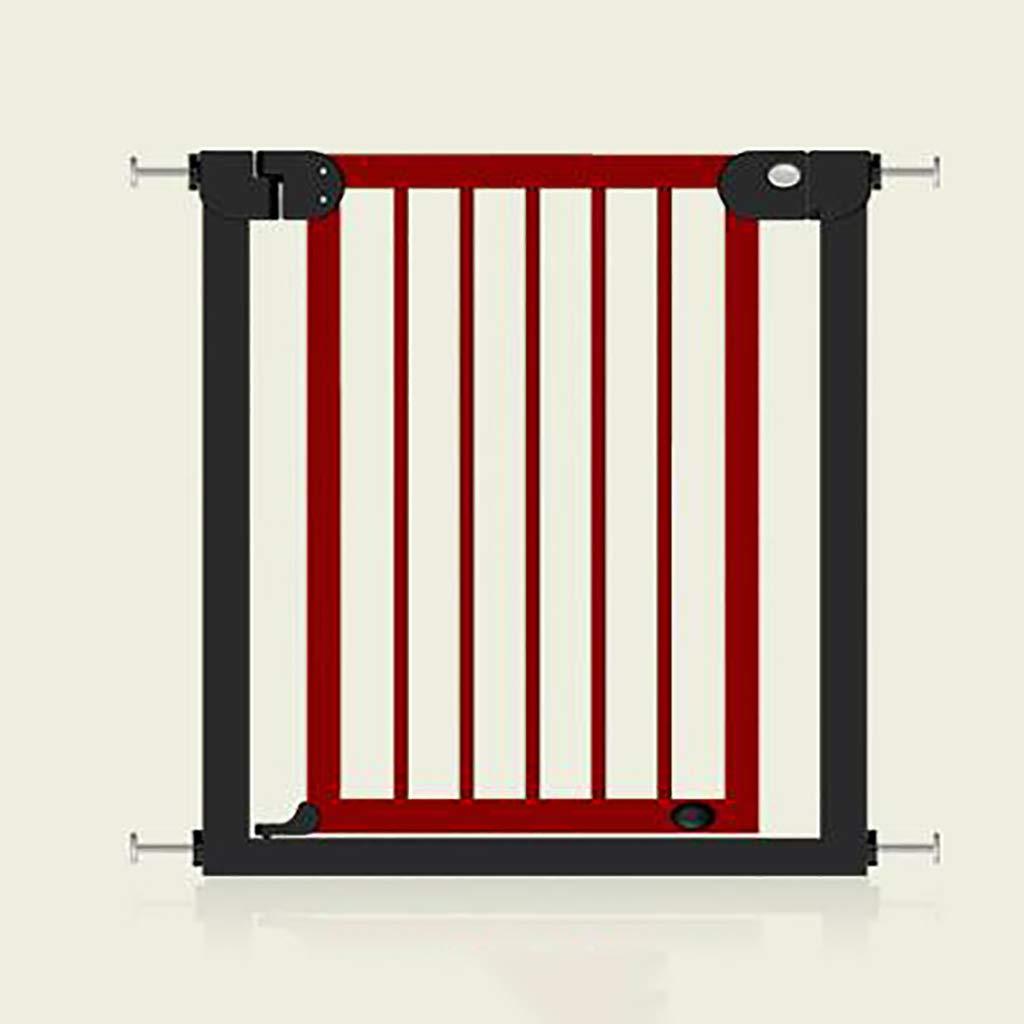 TLMY 子供の安全ドアペットフェンス保護分離ドア高暗号化幅76-83 cm ベッドガードレール (Color : B)  B B07SCXHYR9