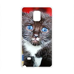 Adorable Cute Kitten Kitty With Blue Eyes Phone For Case HTC One M8 Cover