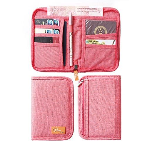 SUSU Travel Passport Wallet Case Family Passport Holder Organizer 4 Passport Cover for Women, Mom, Girls by SUSU (Image #4)