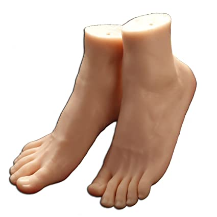 Amazon Com 1 Pair Silicone Life Size Male Mannequin Leg Foot
