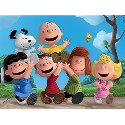 Ceaco Together Time Peanuts 400 Piece Puzzle: Toys & Games