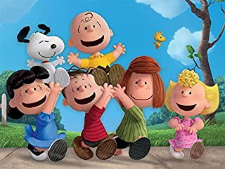 product image for Ceaco Peanuts 400 Piece Puzzle,Charlie Brown, Snoopy, Linus, Lucy, Woodstock, Sally, Peppermint Patty