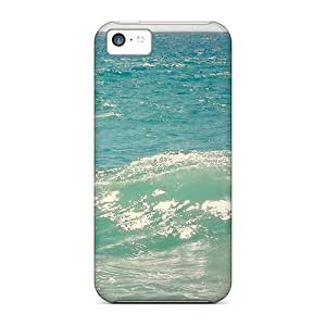 Anti-scratch And Shatterproof Wave Phone Cases For iphone 5c/ High Quality Cases