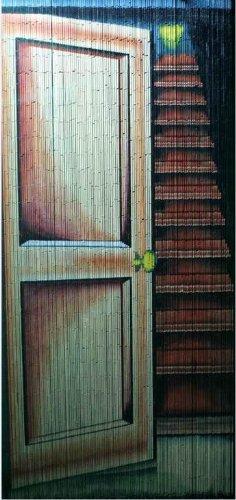 Open Door Beaded Curtain (Curtains Tropical Beaded)