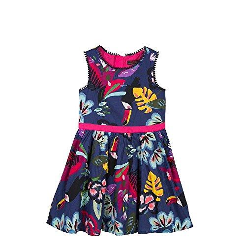 Catimini Tropical Print Voile Dress by Catimini