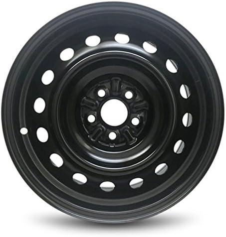 "New 15/"" 15x6 Black Steel Wheel Rim for 2009 2010 2011 2012 Toyota Corolla"