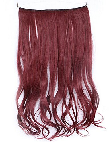 SWACC Straight Hairpiece Synthetic Extensions product image