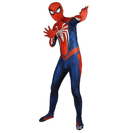KOUYNHK Traje De Spiderman Impreso En 3D para Adultos Lycra ...