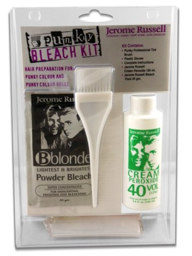 Amazon Com Jerome Russel Punky Color Hair Bleaching Kit Vol 40
