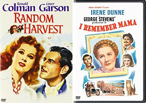 I Remember Mama & Random Harvest 1940's Movie Classics Drama DVD Set