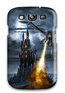 Premium Tpu Attack Of The Dragons Cover Skin For Galaxy S3