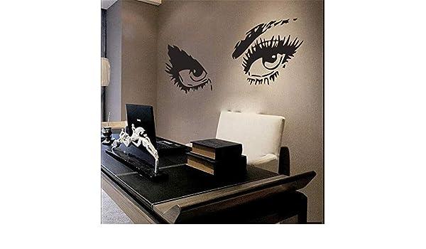 Estilo de moda Cosmético Tatuajes de pared Vinilo Salón de belleza Niñas Pegatinas de pared Hogar Habitación Arte Decoración moderna Cartel de la pared Venta caliente 57 * 109 cm: Amazon.es: Bricolaje