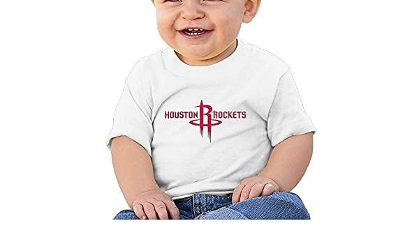 AiguanRocket Emblem Toddler//Infant Short Sleeve Cotton T Shirts White
