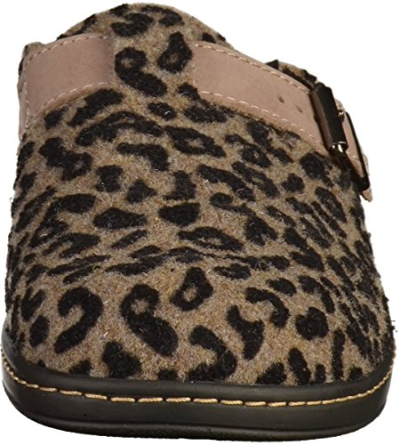 Hickersberger Kräuterschuhe 5216 Damen Clogs Braun(Leopard)