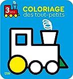 Coloriage des tout-petits: Le train - 3 ans