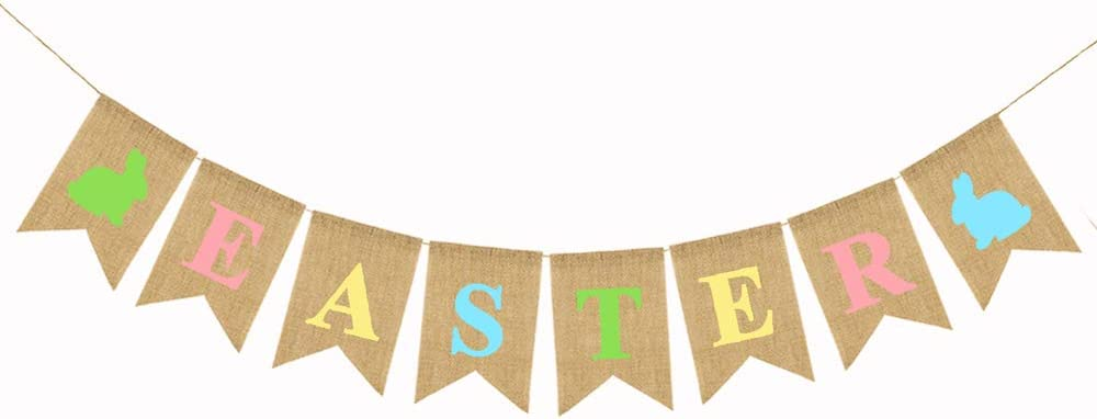 Hessian Burlap Rustic Wedding Party Decoration  MR and MRS Bunting Banner LY