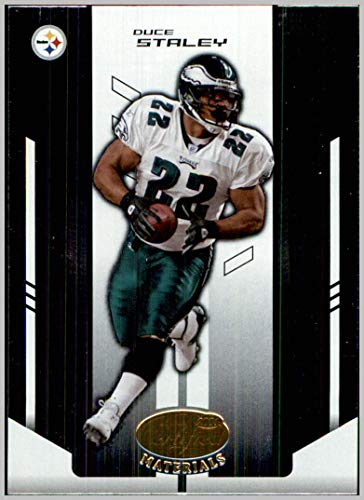 2004 Leaf Certified Materials #97 Duce Staley EAGLES STEELERS SOUTH CAROLINA GAMECOCKS
