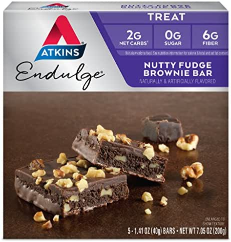 Granola & Protein Bars: Atkins Endulge Bar