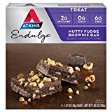 Atkins Endulge Treat, Nutty Fudge Brownie Bar, 5 Count