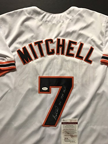 Autographed/Signed Kevin Mitchell