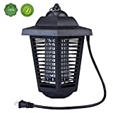 TBNEVG Powerful Electric Bug Zapper With UV Light Trap,Indoor Outdoor Mosquito Fly Insect Catcher Killer,Pest Control Protects Up to 2.0 Acre For Residential, Commercial and Industrial Use